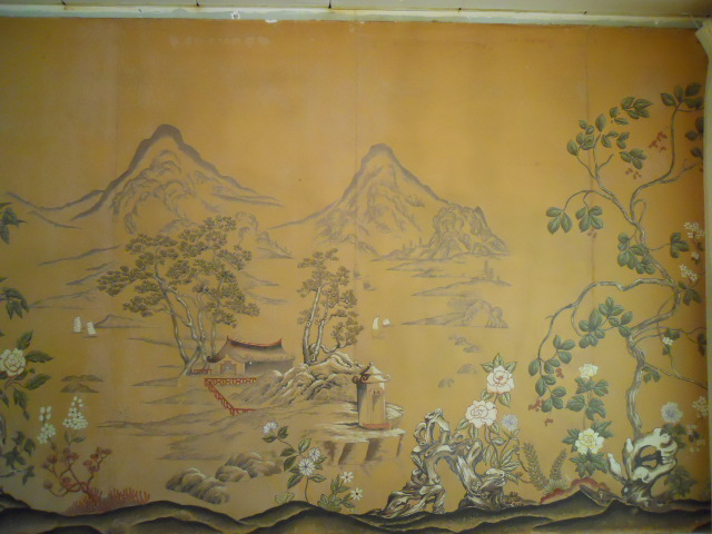 Oriental wall mural simply stephanie 39 s art blog for Chinese wall mural